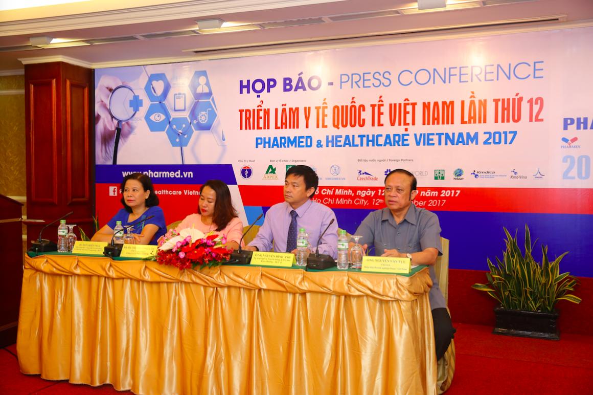 BÁO DOANH NHÂN : Sẵn sàng cho Triển lãm Y tế Quốc tế Việt Nam Lần thứ 12