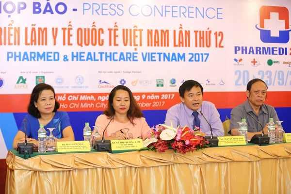 DOANH NHÂN & ĐỜI SỐNG : Khởi động Triển lãm y tế quốc tế Việt Nam lần thứ 12