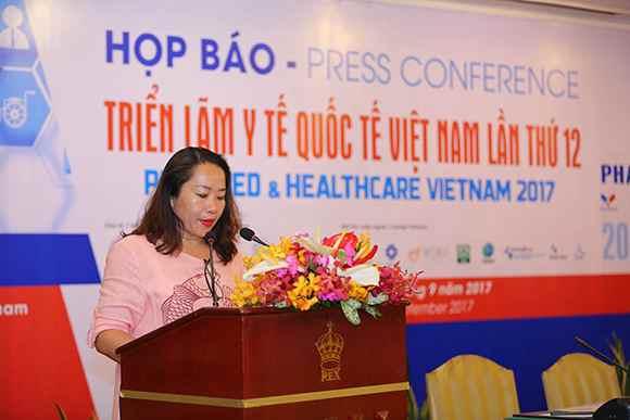 PHỤ NỮ CUỘC SỐNG : Triển lãm Y tế Quốc tế Việt Nam lần thứ 12 Pharmed & Healthcare Vietnam - PHARMEDI 2017