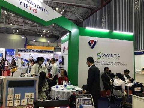 Triển lãm Y tế Quốc tế Việt Nam lần thứ 13: Hội tụ kỹ thuật và công nghệ tiên tiến lĩnh vực sức khỏe